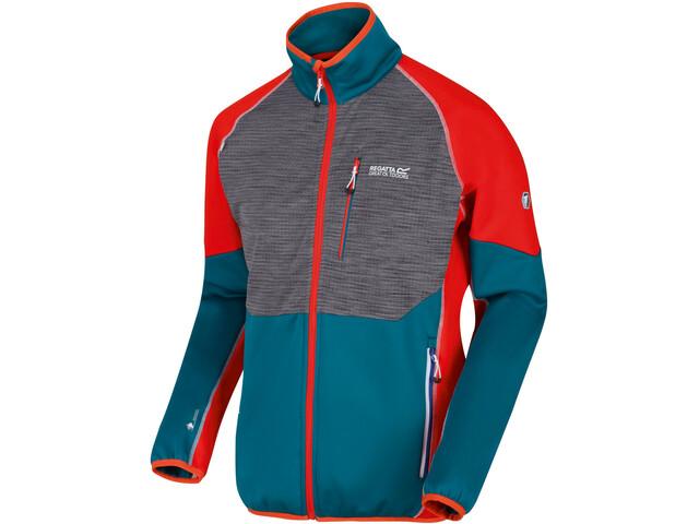 Regatta Yare II Jacket Men, azul/rojo